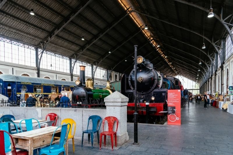 Eisenbahnmuseum, Madrid