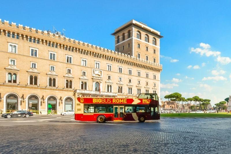 Rome hop-on hop-off bus tour