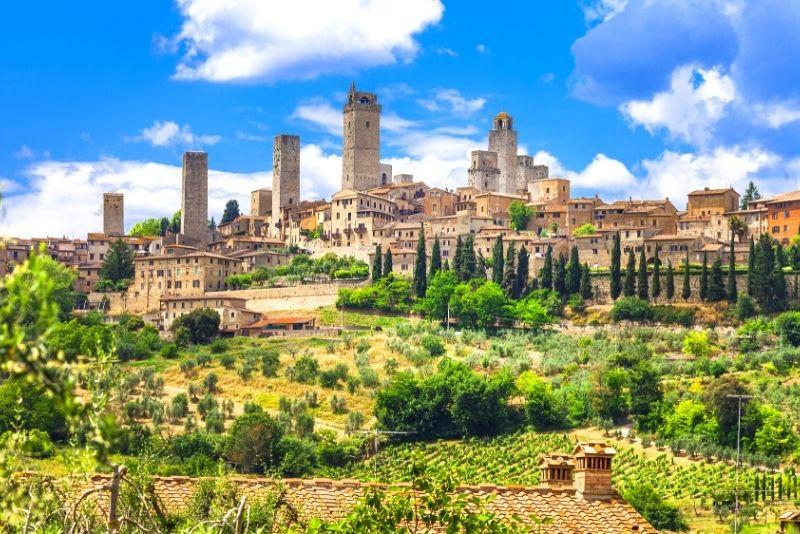 San Gimignano Reise von Florenz