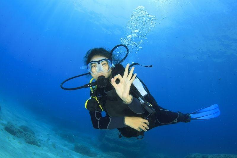 Tauchen Menorca