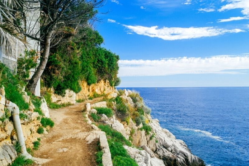 Sentier du Littoral in Cap Ferrat