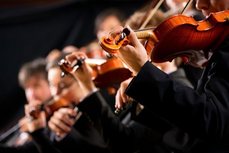 Spanisches Nationalorchester im National Music Auditorium