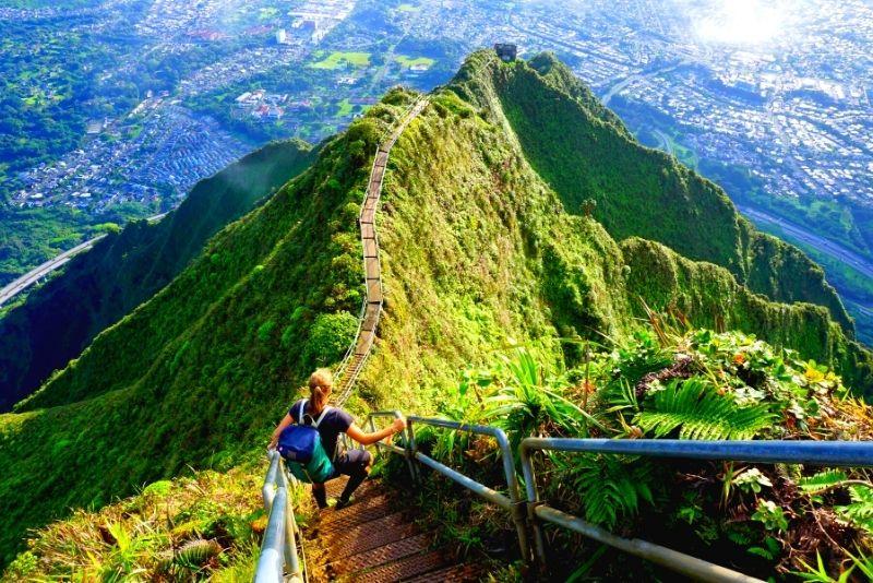 Stairway to Heaven hike, Oahu, Hawaii