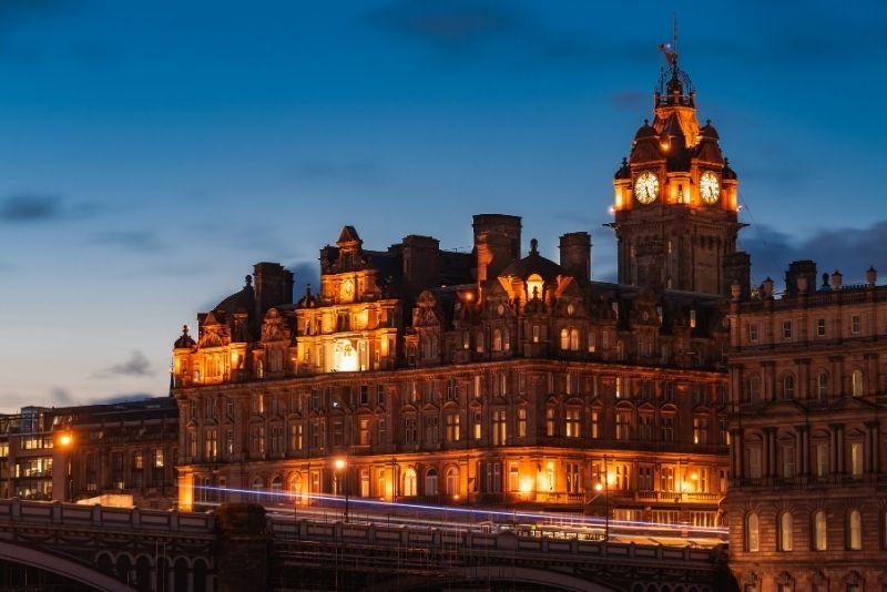 Das Balmoral Hotel in Edinburgh