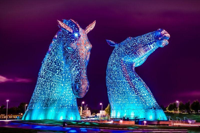Die Kelpies, Schottland