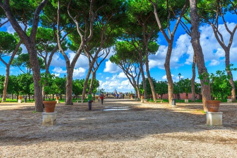 The Orange Trees Garden, Rome