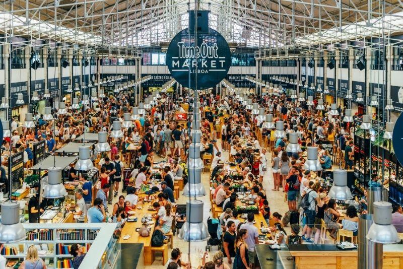 Auszeitmarkt, Lissabon