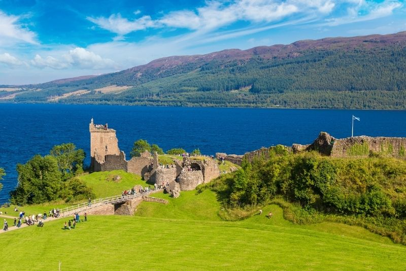 Urquhart Castle, Loch Ness, Schottland