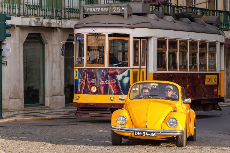 VW Käfer Tour in Lissabon