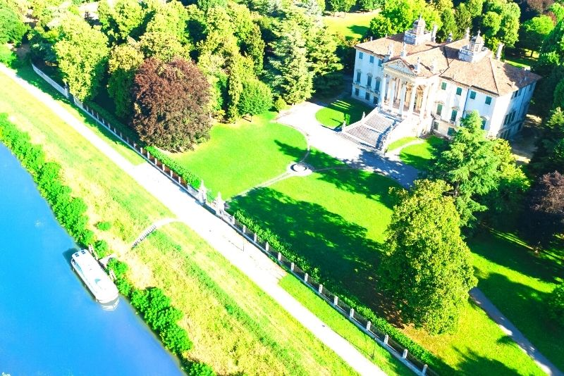 Villa veneta in crociera sulla Riviera del Brenta