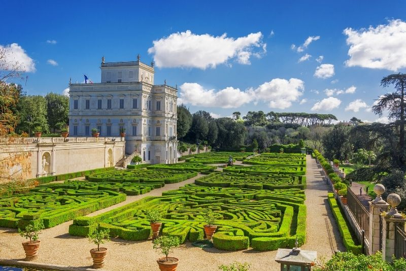 Villa Doria Pamphili gardens
