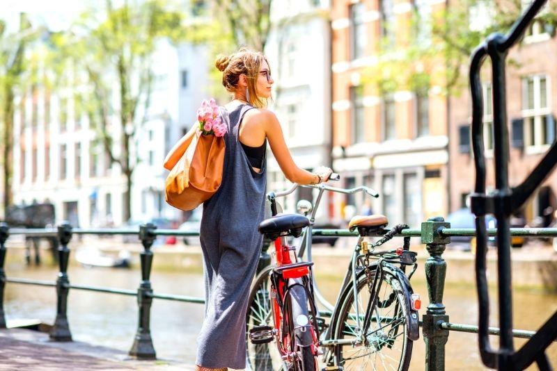 tour en bicicleta en Amsterdam