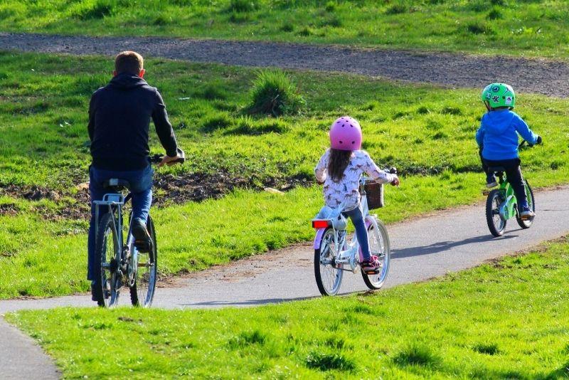 Fahrradtour in Edinburgh