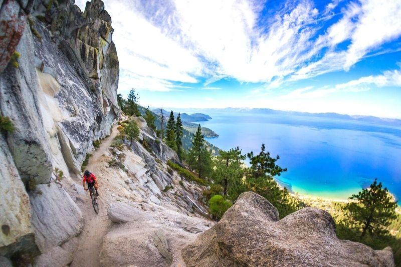bike tour in Lake Tahoe