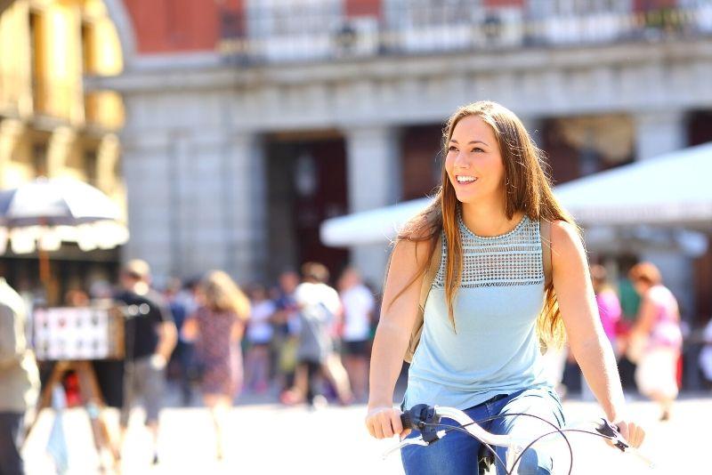 Radtour in Madrid
