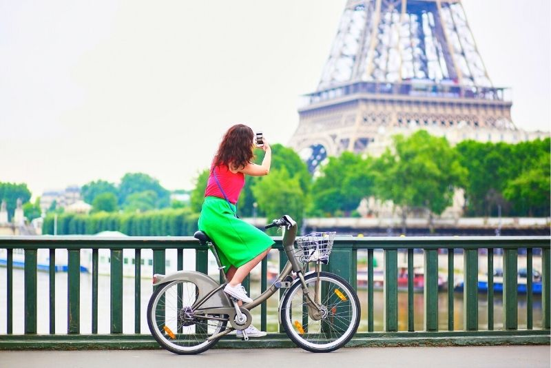 tour à vélo à Paris
