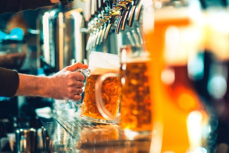 tour por la cervecería en Amsterdam