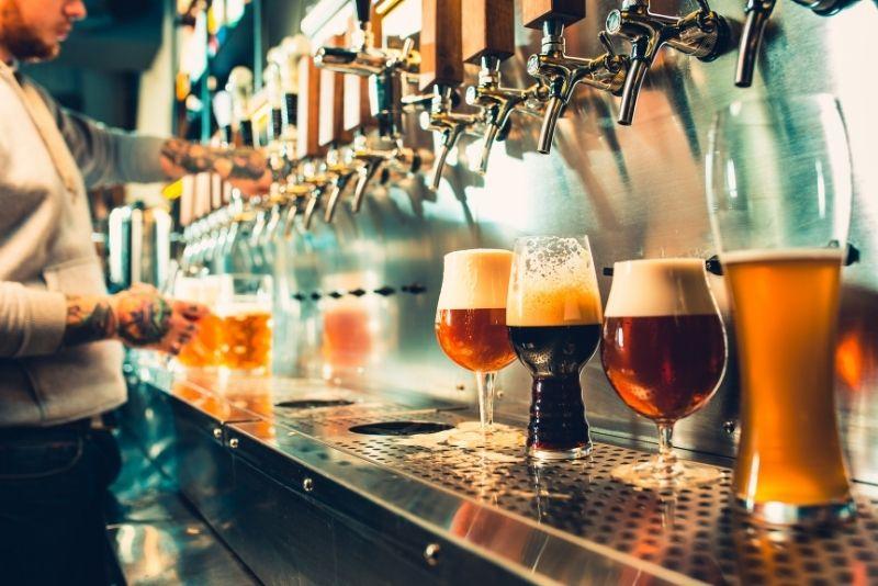 Brauereibesichtigung in Edinburgh