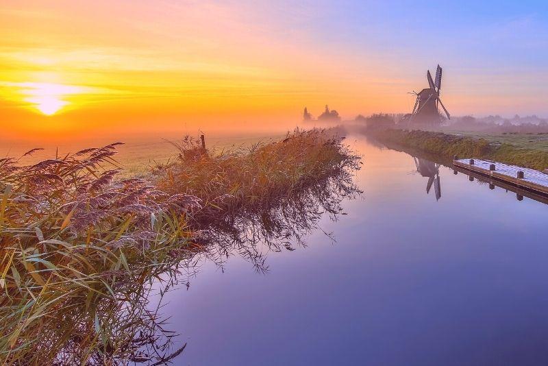 piragüismo en los humedales, Países Bajos