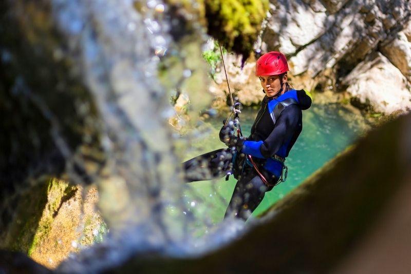 Canyoning im Nationalpark Madrid