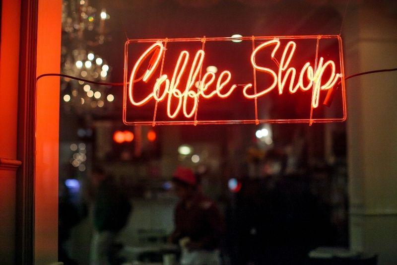 cafetería en Amsterdam