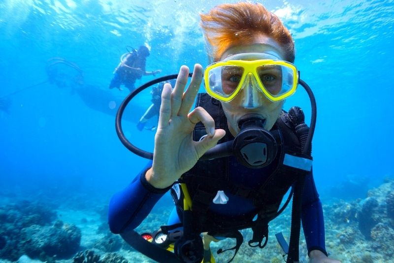 diving in Emerald Bay Heritage Trail