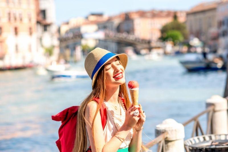 gelato in Venice