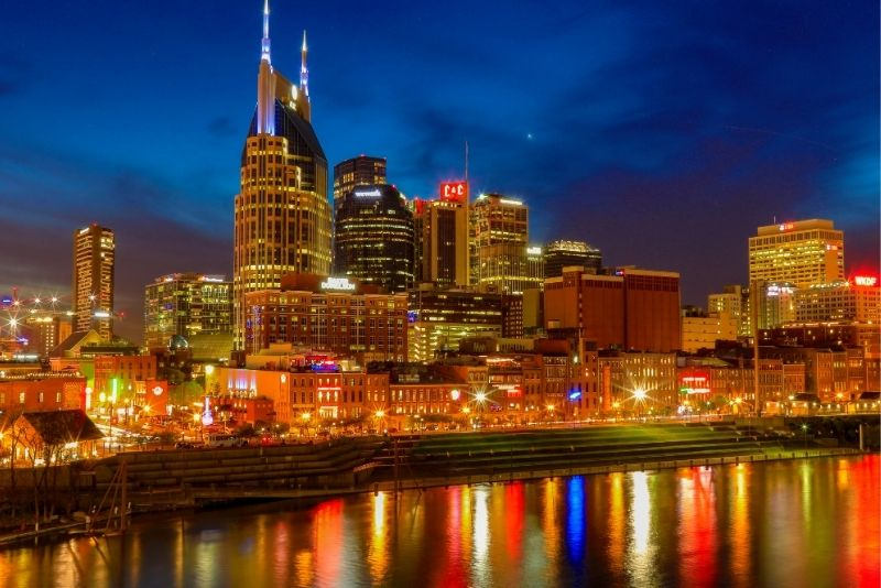 ghost tour of Nashville