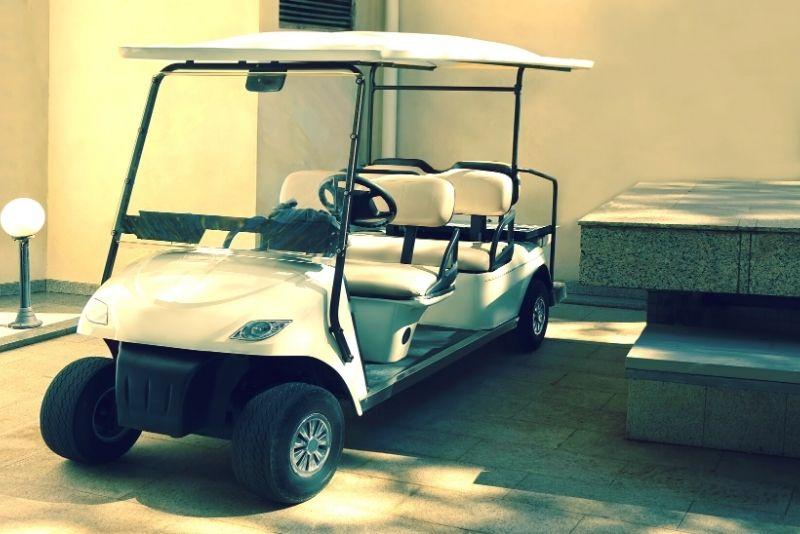 golf-cart tour in Rome
