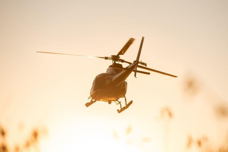 Hubschraubertour in Lissabon