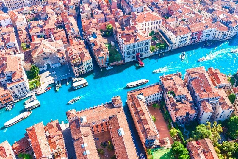 tour in elicottero a Venezia