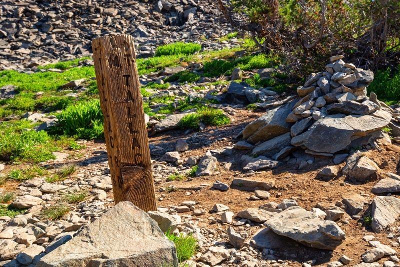 hiking Mt. Tallac