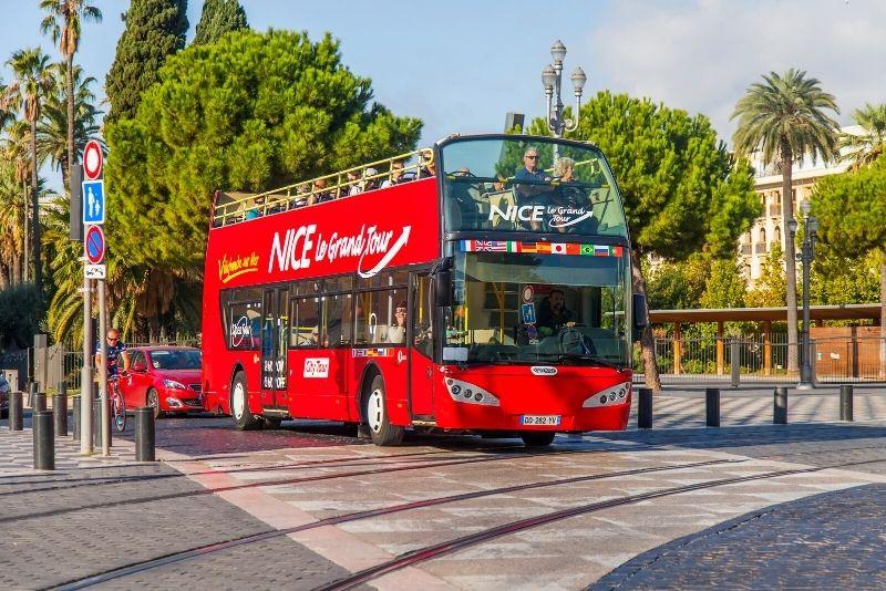 tour in autobus hop-on hop-off Nizza