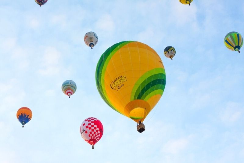 Heißluftballonflug Mallorca