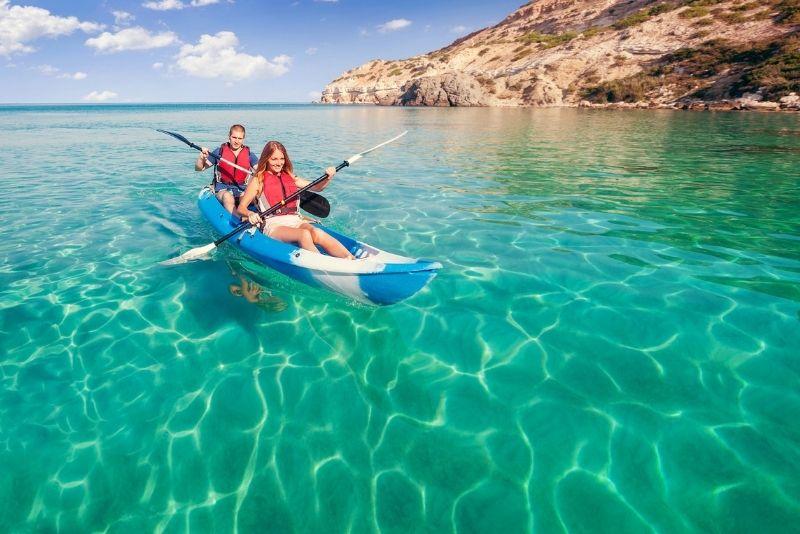 Kajak fahren Menorca
