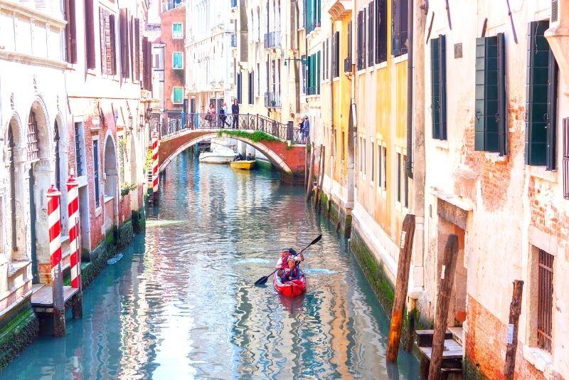 kayak a Venezia