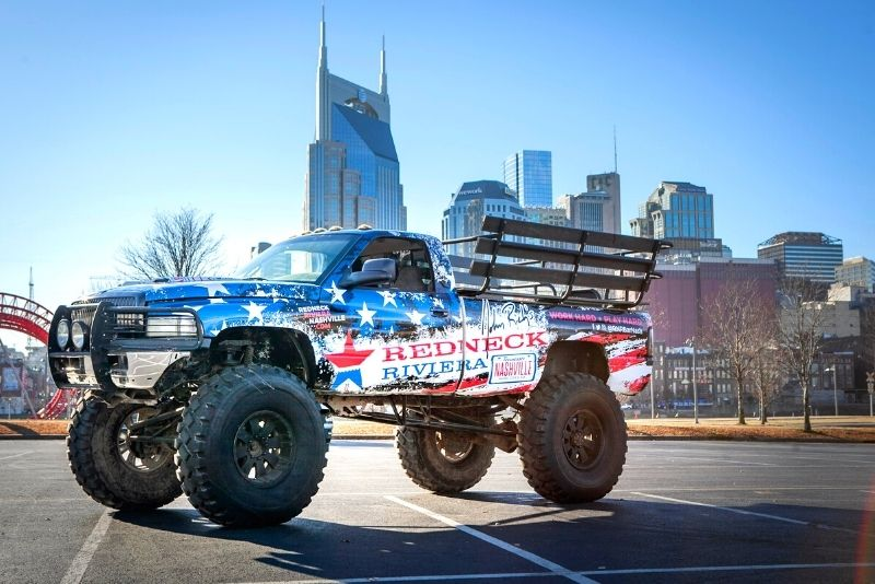 monster truck tour in Nashville