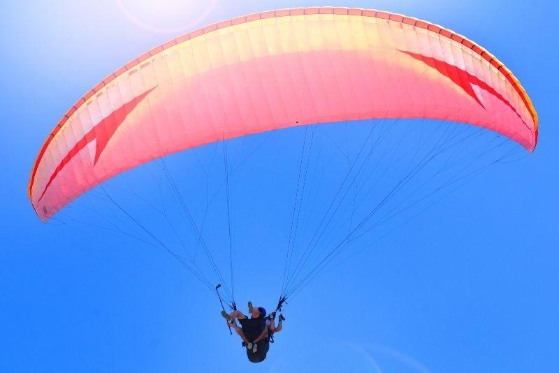 paragliding in Lisbon