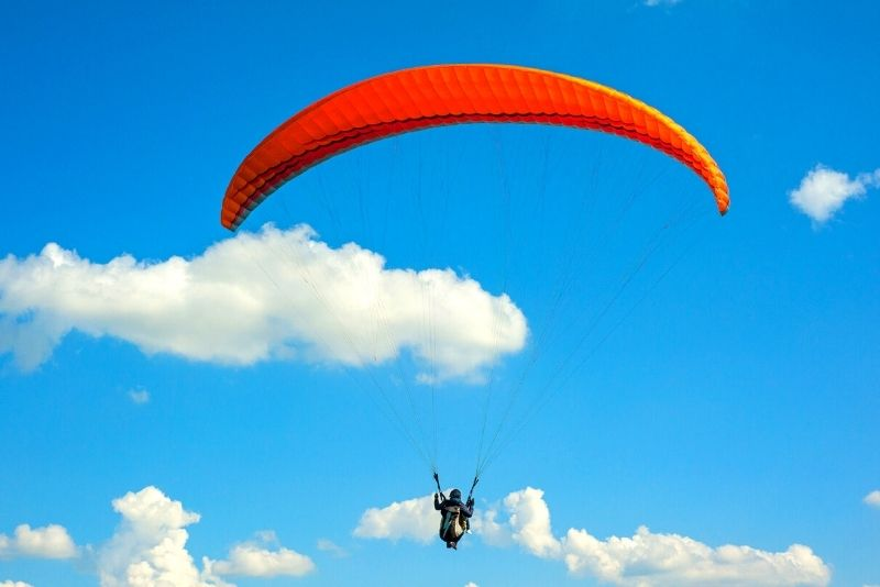 paragliding near Rome