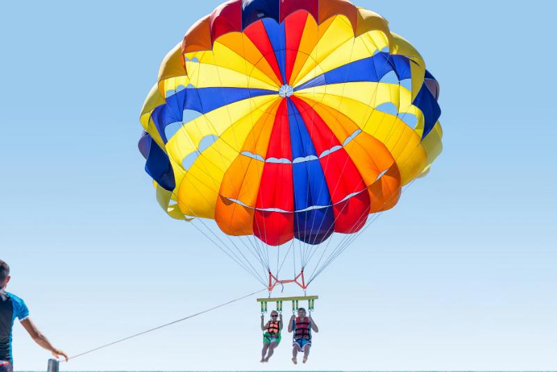 parasailing in Kos