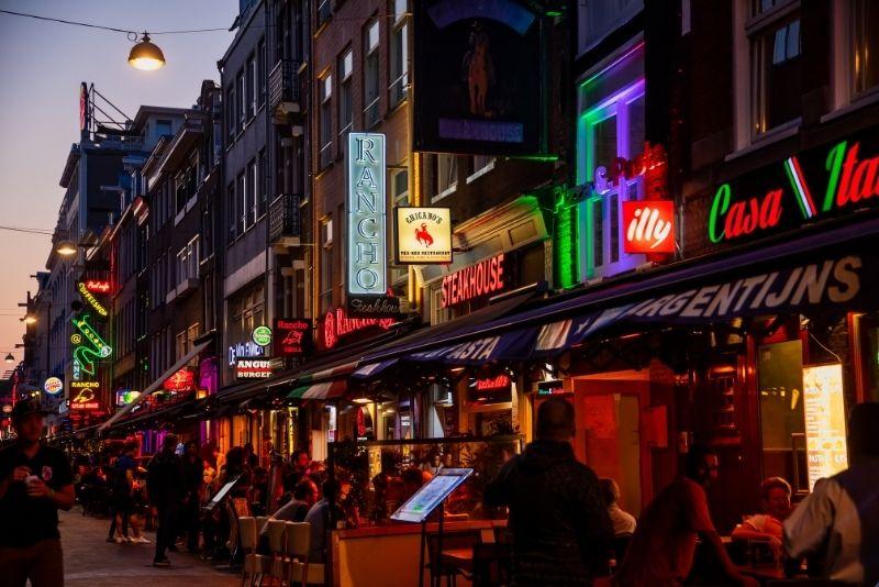 Pub crawl en Amsterdam