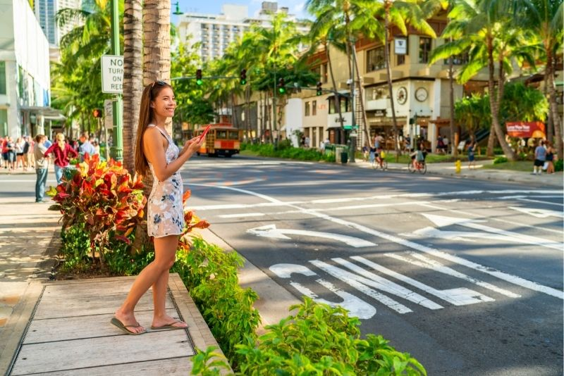 scavenger game in Honolulu
