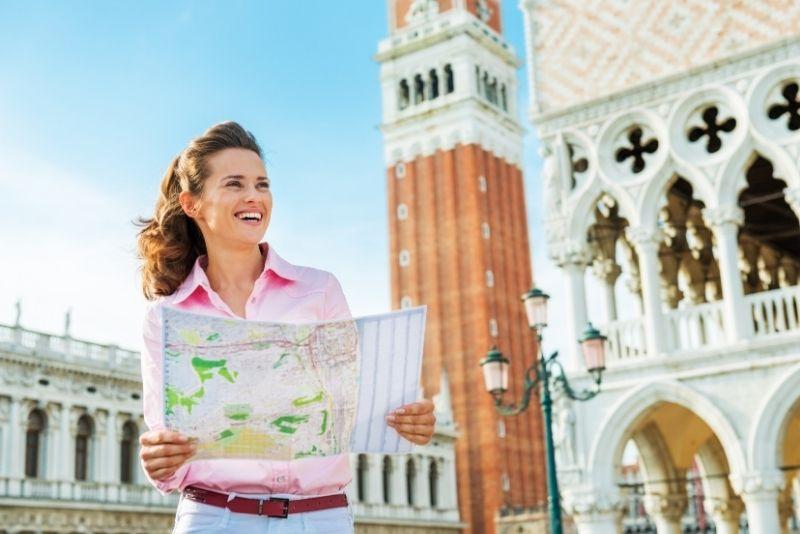 selvaggina al tesoro a Venezia