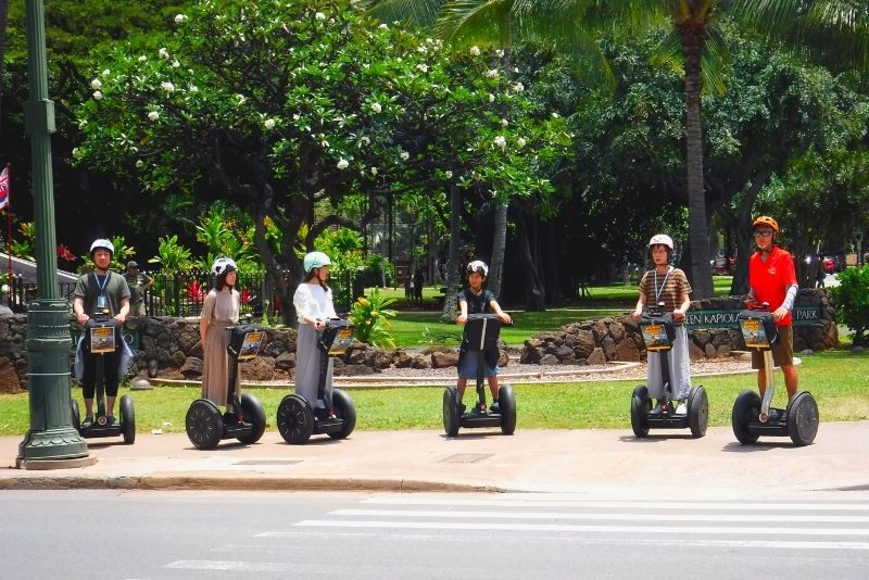 segway tour in Oahu