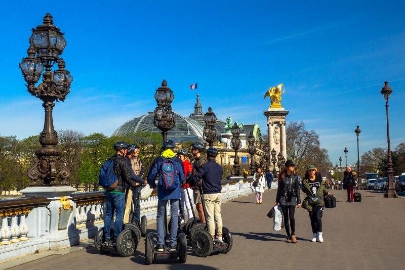tour en segway à Paris