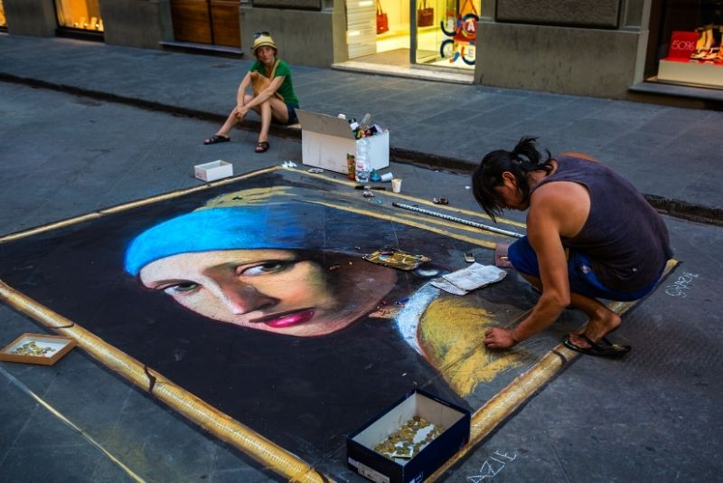 street art tour in Florence