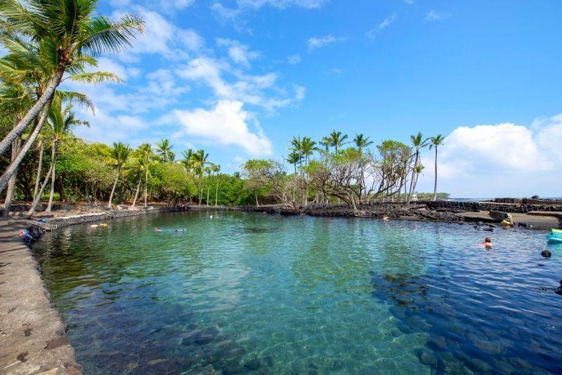 Ahalanui hot Ponds, Big Island, Hawaii