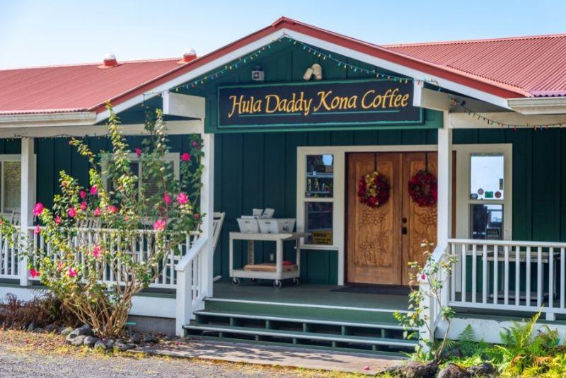 Hula Daddy Kona Coffee, Big Island, Hawaii