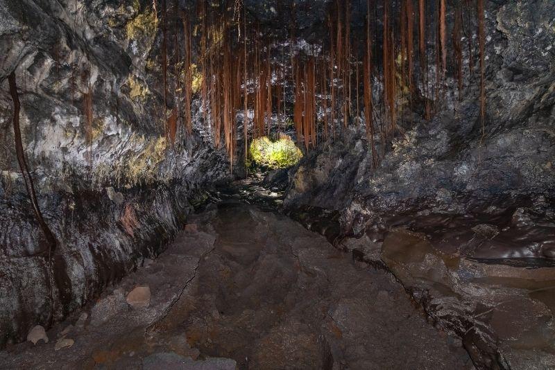 Kaumana Caves, Big Island, Hawaii