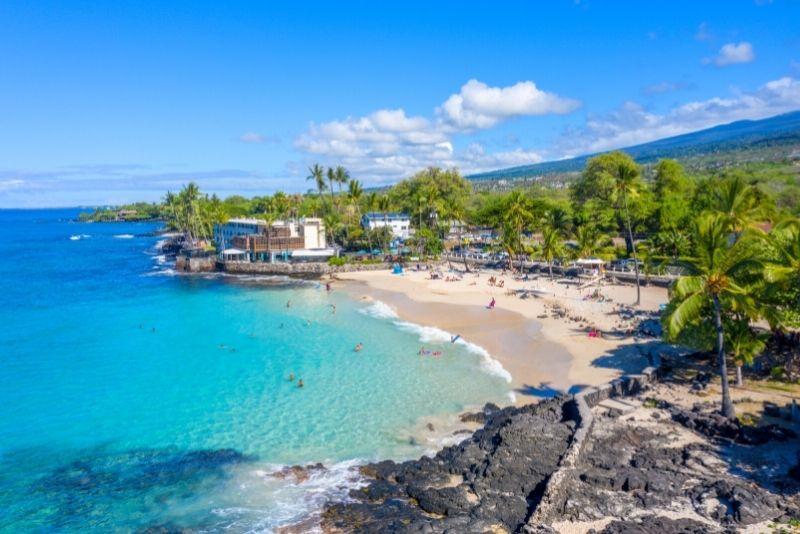 Kona Magic Sand Beach, Big Island, Hawaii